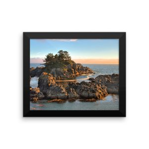 Framed photo paper poster Ucluelet